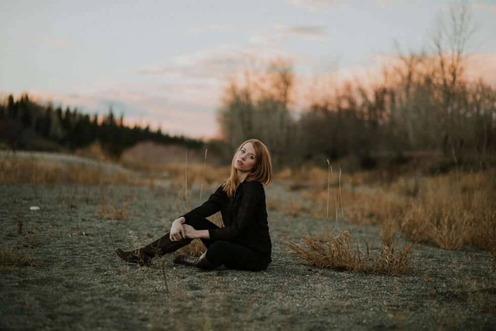 Calgary Model Photographer | Mackenzie | Red Head Model