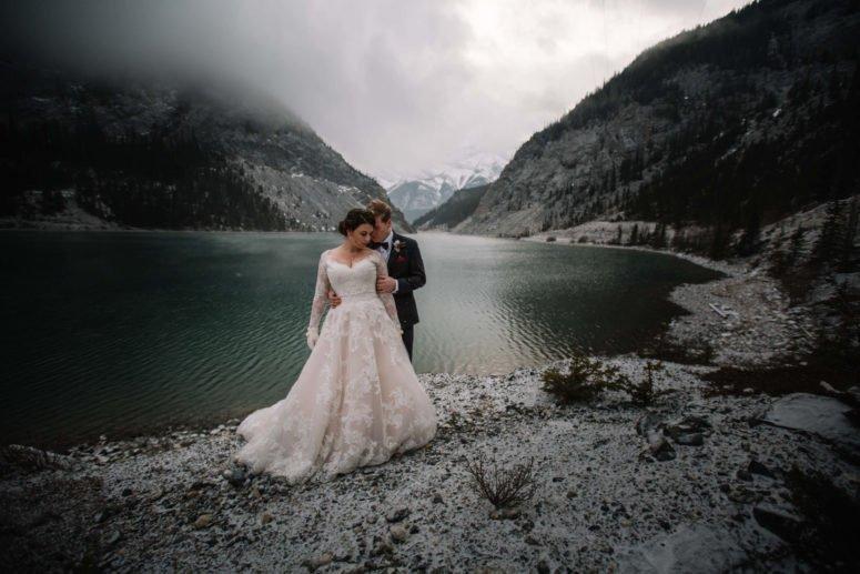 Banff Canmore Wedding Photographer | Banff Elopement Photographers | Calgary Bridal Photography
