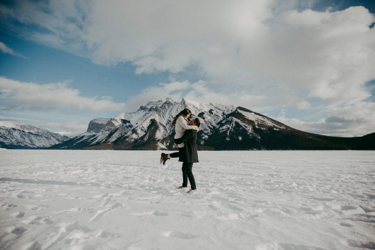 Couple Photography | Banff Marriage Proposal | Calgary Wedding Photographer