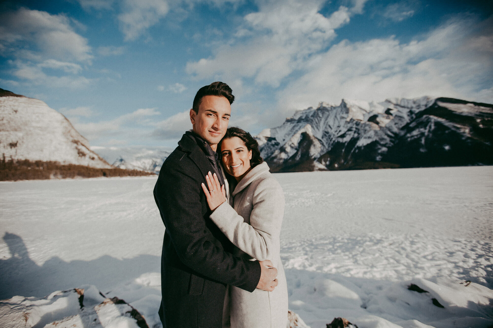 Couple Photography | Banff Marriage Proposal | Calgary Wedding Photographer