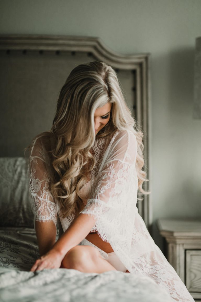 Cypress Bridal Boudoir | Blonde Model | Destination Photographer