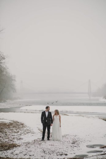 Calgary Banff Canmore Wedding Photography   Winter Wedding
