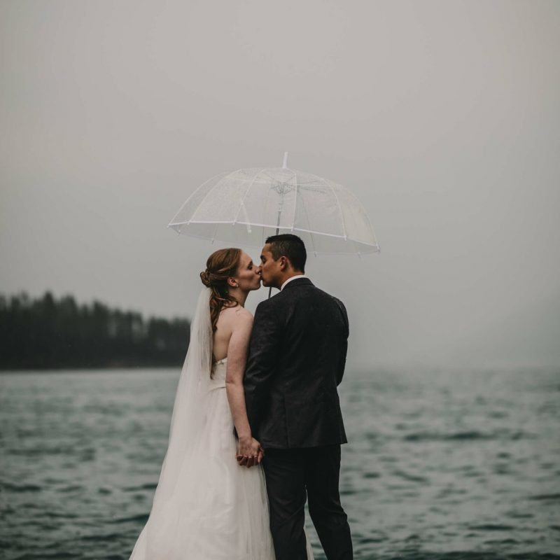 Lake Minnewanka Elopement | Banff Wedding Photographers | Calgary Wedding Photography