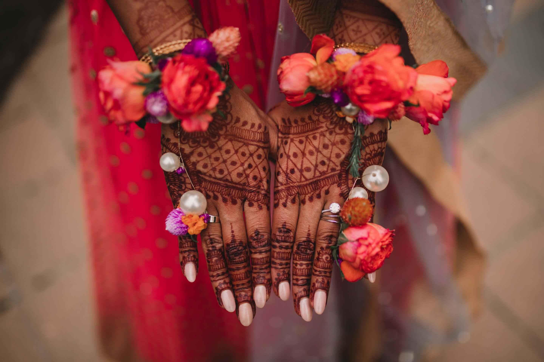 Henna Ceremony | Mehendi Calgary Indian Wedding Photographer