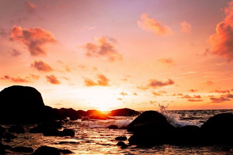 Karon Thailand Beach Sunset   Destination Wedding Photographer