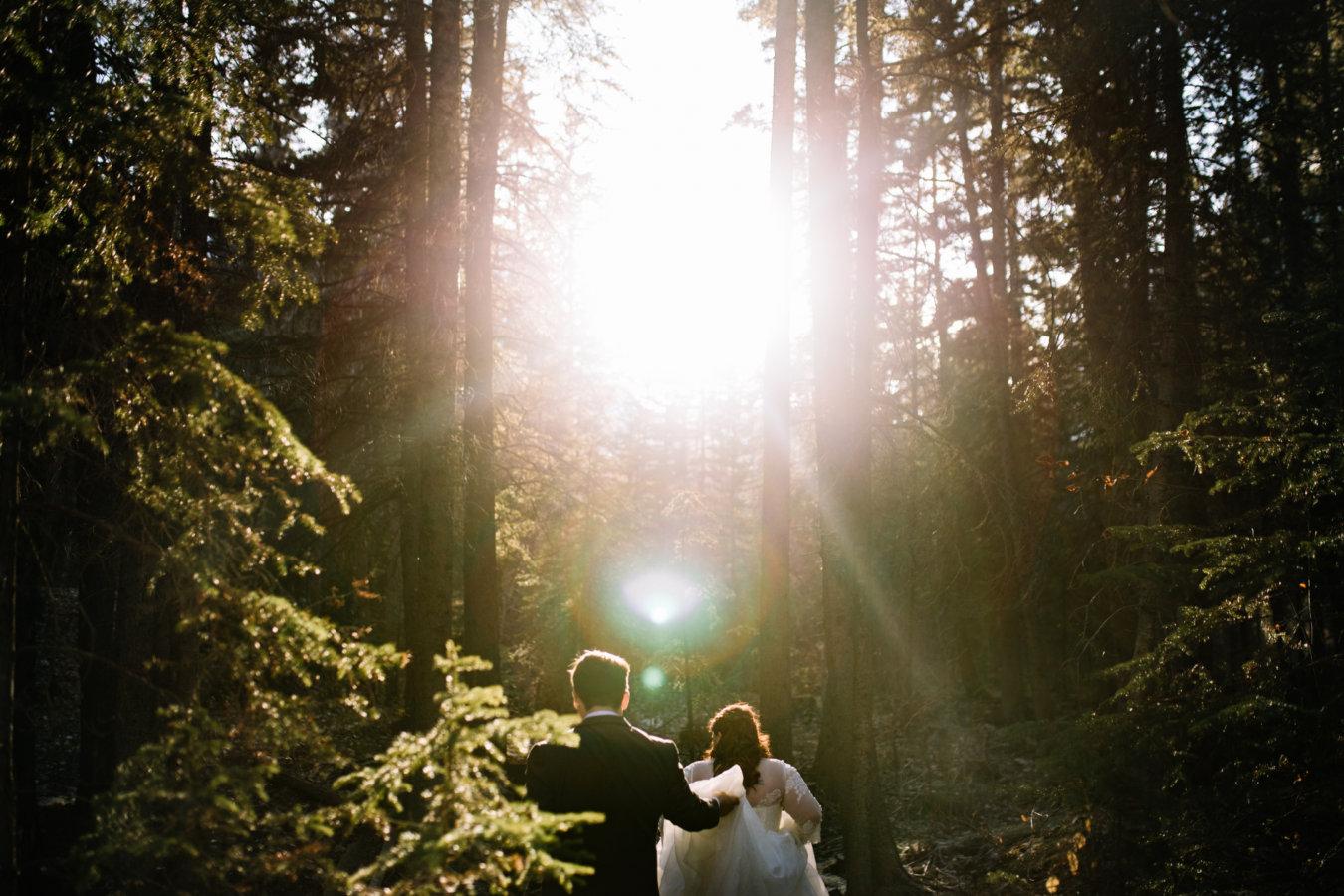 Engine Bridge | Canmore Wedding Photography | Banff Wedding Photographers