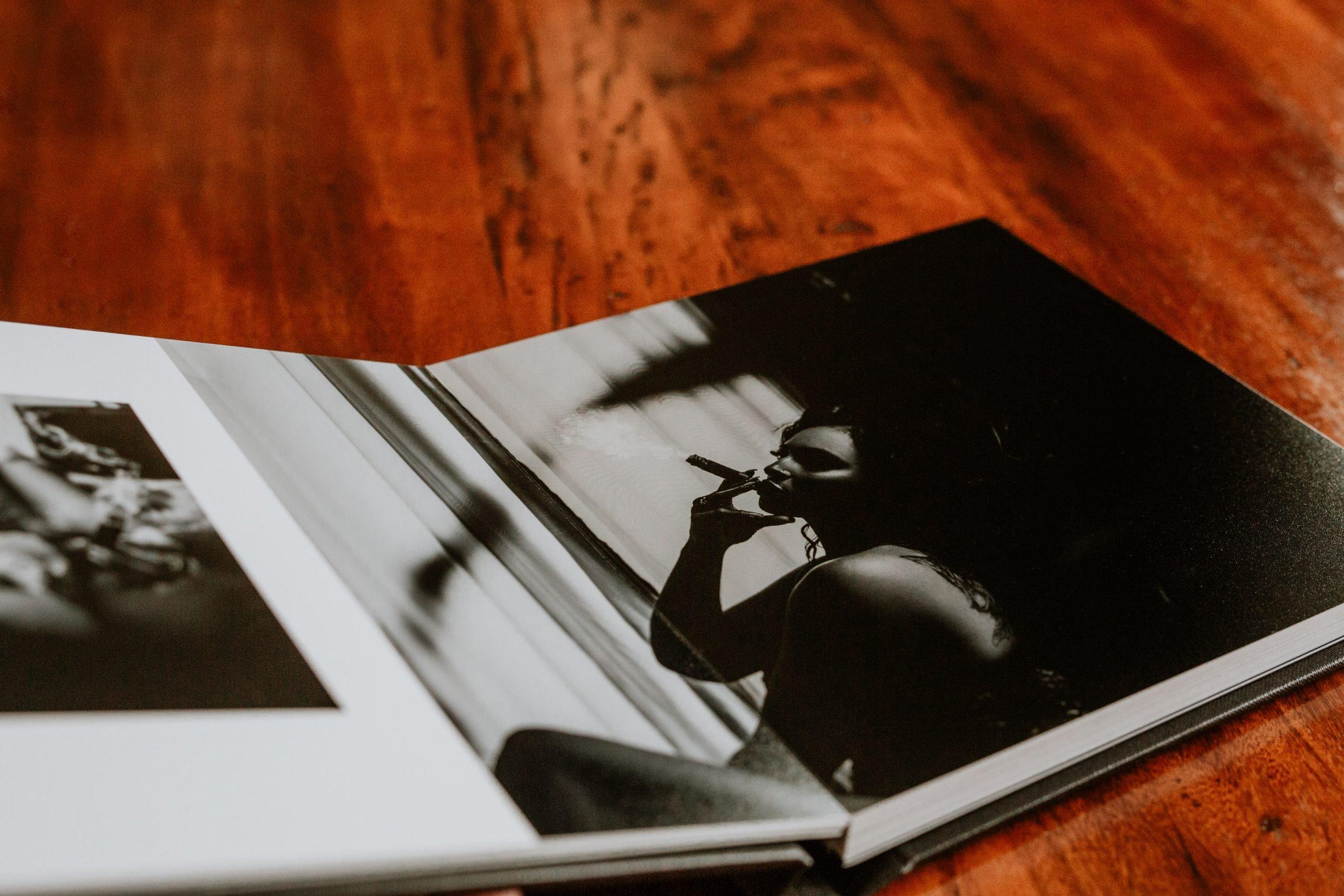 Best Boudoir Fine Art Luxury Album | Boudoir Products | Best Calgary Boudoir Photography